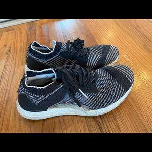 Adidas Ultraboost x black white grey prime knit